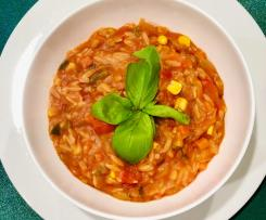 Vegetable Stew with Risoni
