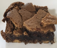 Fudgy Hazelnut Chocolate Chip Brownies