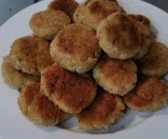 Chicken, Bacon and Quinoa Rissoles/Patties + Hidden Vege