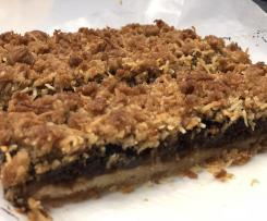 Apricot crumble slice (AWW)