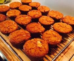 Gluten Free Moist Carrot Muffins