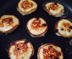 Gluten Free Three Fruit Pikelets