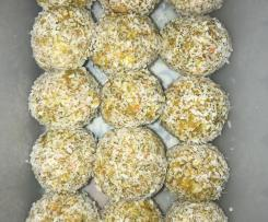 "Nut free ""orange"" bliss balls"