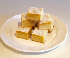Creamy Lemon Biscuit Bars