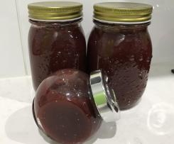 Spiced fig and Pear Jam