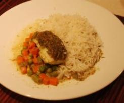 Coriander Fish Parcels