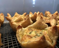 Sundried Tomato & Basil Quiches