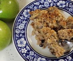 Apple & Coconut Crumble (Gluten & Dairy free)