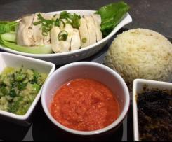 Hainanese Chicken Rice (Fast & Easy)