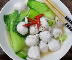Homemade Chinese Fish Balls