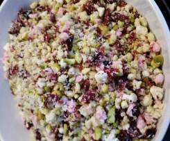 Cranberry, Pistachio and Chocolate White Christmas by Domestic ThermoMinx