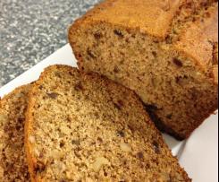 Date & Walnut Loaf (Gluten Free & Non-Dairy)