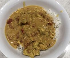 Peanut Butter Chicken Curry - Healthy Mummy adaption