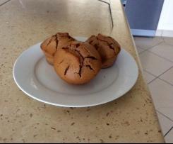 Chocolate & Peanut Butter Muffins