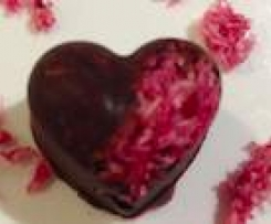 Rose 'Love' Chocolate Dairy Free Refined Sugar Free