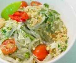 Thai Chicken and Prawn Salad