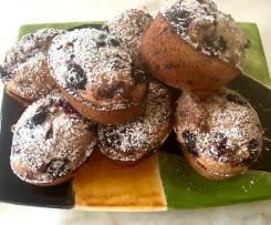White Chocolate Berry Friands