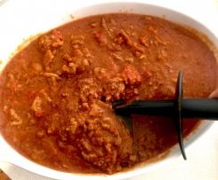 Chunky Bolognaise Sauce