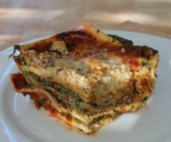 Cottage Cheese and Spinach Lasagne