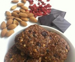 Healthy Mini Nut Cakes