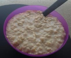 Creamy spiced honey porridge