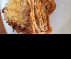 Tasty Bolognaise Tortilla Stack