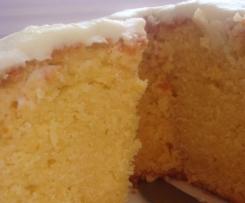 Decadent White Chocolate Mudcake