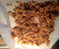 Vegan gluten free Toasted Muesli Clusters