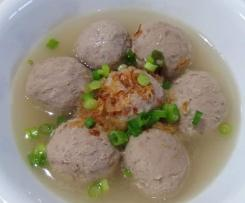 BASO SAPI (INDONESIAN MEAT BALLS)