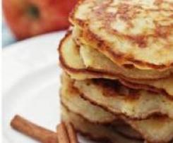 Apple & Cinnamon Pancake Loveliness