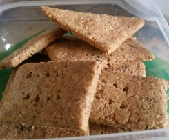 Almond & Millet Crackers