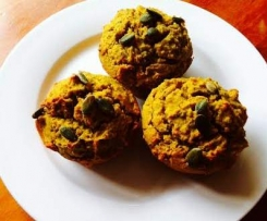 Pumpkin and Chia Muffins