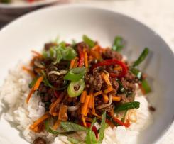 'Squid Game' Stir Fry - Bulgogi Beef
