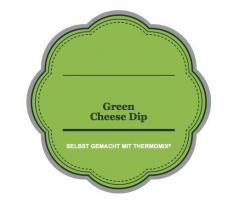 Green cheese dip
