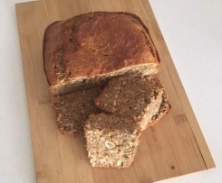 Wholemeal Spelt (Refined Sugar Free) Banana and Coconut Loaf