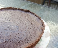 Choc Orange Decadent Tart