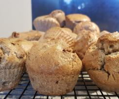 Lola Berry Healthy Paleo Hot Cross Muffins