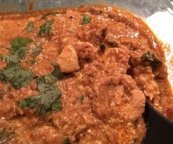Butter Chicken with texture- JJ's Spicy Thermo Kitchen