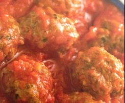 SAUCE AND MEATBALLS FOR SHEREE