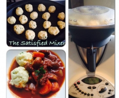 Beef Bourguignon with Parmesan Dumplings