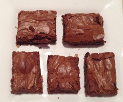 Chocolate Honeycomb Brownies