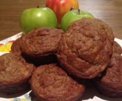Banana Cran-apple Muffins