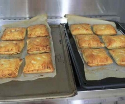 Cheese and Onion Pasties (Like Greggs the Bakers Scotland)