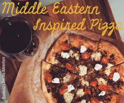 Middle Eastern Inspired Pizza