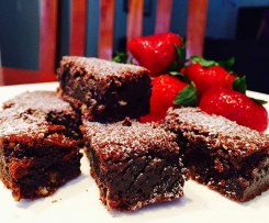 Chocolate Brownies ~ Decadent and Gooey