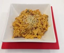 Chicken, Prosciutto & mushroom pasta