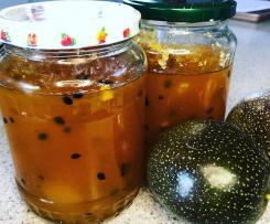 Passionfruit apple jam