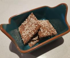Grain-free crackers the ThermoMonts way