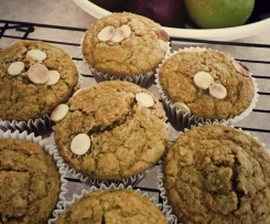 Apple, Banana, Zucchini and Carrot Muffins with Gluten, Egg and Dairy free options