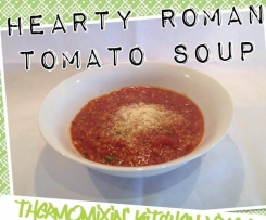 HEARTY ROMAN TOMATO SOUP